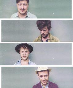 Marcus, Winston, Ted, & Ben