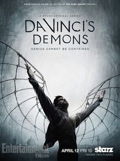 Da Vinci's Demons - historically accurate?..erm, who cares!  I watched season 1 in a day, cried when season 2 ended….and I am waiting impatiently for season 3!!!!