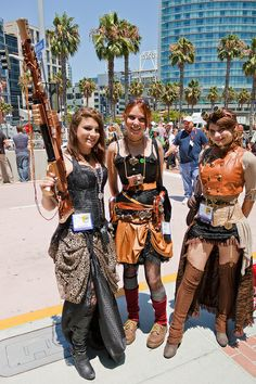 All these girls r makin me feel bad :P they all look perfect and then there's me well anyway I really wanna be a steam punk girl for halloween for a party I may be having but with no boobs, chicken arms, stick legs, and no hips, it will be cinda hard