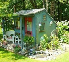 shed for gardening or a tiny studio - Garden Sheds Michigan
