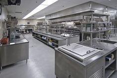 arquitetura de cozinhas profissionais