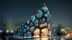 Nice voronoi building