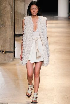 Isabel Marant spring/summer 2015 collection - Paris fashion week