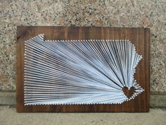 String Art State Any State Pennsylvania  Home is by ArnieKHandmade, $55.00