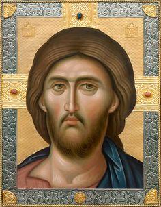 Religious Images, Religious Icons, Religious Art, Byzantine Icons, Byzantine Art, Christus Pantokrator, Religion, Russian Icons, Catholic Art