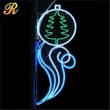 Festival decorative lighting christmas decoration led motif street light