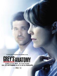 #GreysAnatomy 11 | Premiere Italiana dal 27 Ottobre alle 21 su #FOXlife (Canale 114 di #SKY). #Passaparola #MalateDiGreys #GreysAnatomyIT