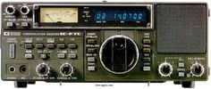A picture of Icom IC-R70