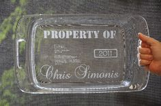 glass etching tutorial-- personalize a gift or just mark your own so you get them back!