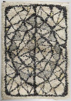 Rya 1900-talets tredje kvartal Rya Rug, Rugs And Mats, Latch Hook Rugs, Textiles, Punch Needle, Rug Hooking, Textile Art, Floor Rugs, Bohemian Rug