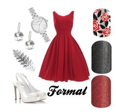 """""""Formal #1"""" by jamee-milsom on Polyvore featuring Fratelli Karida, Kate Spade and Pieces"""