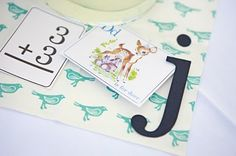 Cute idea for a first birthday party!