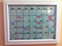 Family calendar. Again.