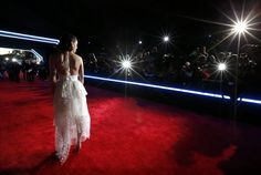 """Daisy Ridley attends the World Premiere of """"Star Wars: The Force Awakens"""" at the Dolby, El Capitan, and TCL Theatres on December 14, 2015 in Hollywood, California."""