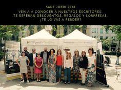 Revista Literaria Angels Fortune : Sant Jordi 2018: os esperamos. Angels, Movies, Movie Posters, Waiting, Interview, Writers, Literatura, Journals, Film Poster