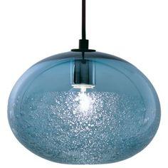 Ellipse Bubble Pendant by Caleb Siemon