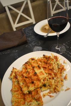 anniemade // Latke Potato Pancakes made in the waffle iron - way healthier and easier recipe