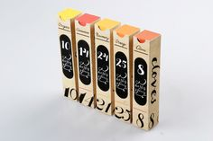 Spice Packaging by Masha Barsukova   |   http://behance.net/MashaBarsukova