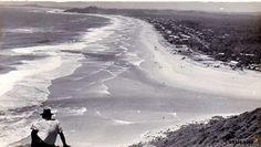 Palm beach from burleigh heads 1945