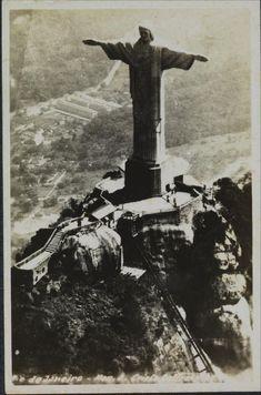 Inauguração do Cristo Redentor 12/10/1931 | Brasiliana Fotográfica