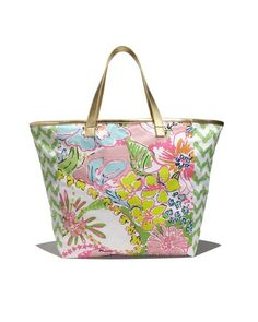 Lilly Pulitzer x Target ($15 Canvas Shopping Tote)