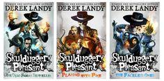 Skulduggery Pleasant - Derek Landy - New Book jackets 1 2 3                                                                                                                                                                                 More