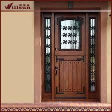Resultado De Imagen De Puertas Exteriores Madera Y Cristal Puertas De Aluminio Modernas Puertas De Entrada De Metal Modelos De Puertas