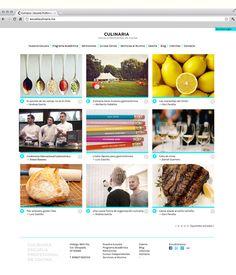 Culinaria by Manifiesto Futura , via Behance