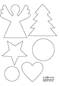 christmas crafting – tutorial & templates