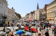 AC/DC, Seyffenstein und die Formel 1 zu Gast in Steyr Steyr, Ac Dc, Street View, City, Classic, Shopping, Formula 1, Celebs, Derby