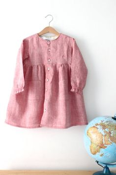 Handmade Cotton Smock Dress | Etsy