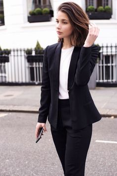 Suits & Sets Pant Suits Fashion Two Piece Women Business Suits With Pant And Jacket Set Blue Tops Ladies Work Wear Office Uniform Designs Styles Bright Luster
