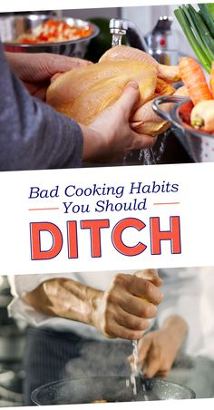 14 Cooking Habits You Should Actually Ditch ASAP