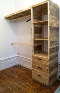 10 lindos móveis construídos com paletes para quem quer renovar sua casa