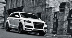 Project Kahn Black & White Audi Q7