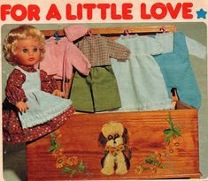 Wooden Chest, Love Pictures, No One Loves Me, Doll Clothes, First Love, October, Diy Crafts, Poses, Colour