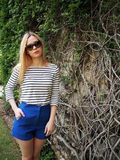 Jennifer Lopez Blue Shorts Size 6