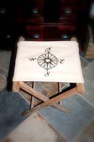 Camp stool make over