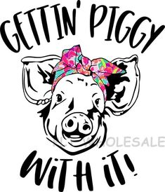 Gettin' Piggy With It Flamingo - Dye Sub Heat Transfer Sheet – Pretty Lil Things Wholesale Cricut Svg Files Free, Cricut Tutorials, Vinyl Shirts, Cricut Creations, Vinyl Projects, Vinyl Designs, Silhouette Projects, Heat Transfer, Order Prints