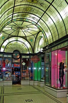 Cathedral Arcade  City of Melbourne CBD (Victoria Australia)