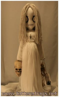 creepy halloween doll