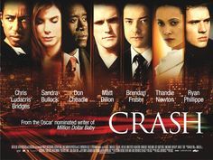 Crash 4/10 - An ensemble cast showing how peoples lifes are connected.   Same-old, same old.