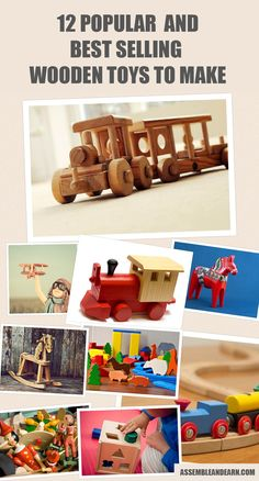 This is a list of several best selling wooden toys. Find out why each ones sells well and how you can include it in the arsenal of beautiful wood creations.