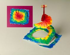 Swirls & Twirls Windsock craft