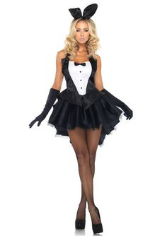 Tux and Tails Bunny Costume #Halloween #Sexy #PlayBoy
