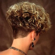 50 Wedge Haircut Ideas for Women [post_tags Haircuts For Curly Hair, Short Curly Hair, Short Hair Cuts, Straight Hairstyles, Curly Hair Styles, Thin Hair, Mushroom Haircut, Short Wedge Haircut, Crop Hair