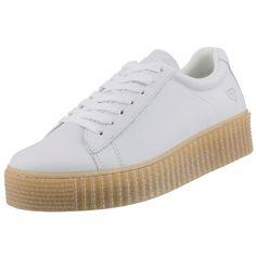 TAMARIS Damen Plateau Sneakers Weiß, Schuhgröße:EUR 40