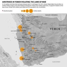US Could Share Responsibility for Indiscriminate Attacks.The Saudi Arabia-led coalition carrying out attacks against the Houthis in Yemen has failed to investigate its apparently unlawful airstrik...