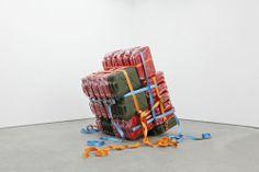Matias Faldbakken, Untitled (Jerry Can Cluster # 02), 2013