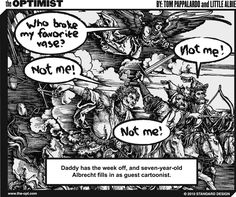 Out Of Office Vacation Auto-Reply #comic #webcomic #albrecht #durer #notme #funny #lol